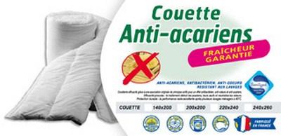 Literie dep t - Couette anti acariens ...